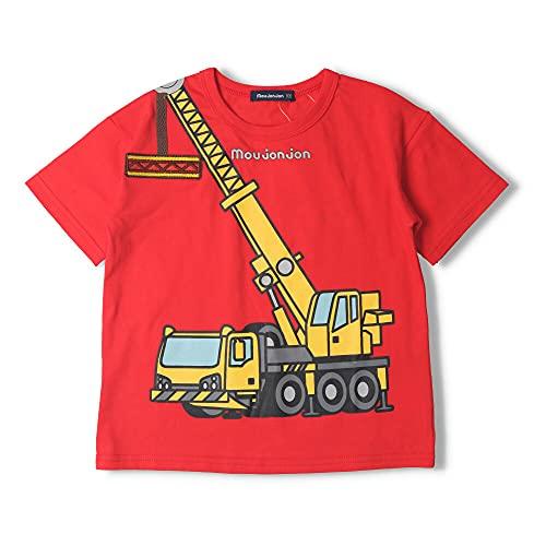 【子供服】 moujonjon (ムージョンジョン) 働く車プリントTシャツ 80cm~120cm M44851