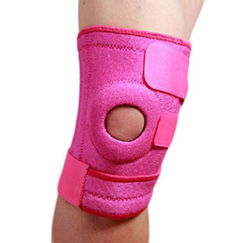 Beautyrain SoftKnees Garde Montagne Protecteur réglable Prévenir l'arthrite des blessures élastiques Tapis Vêtements de sport Sécurité extérieure