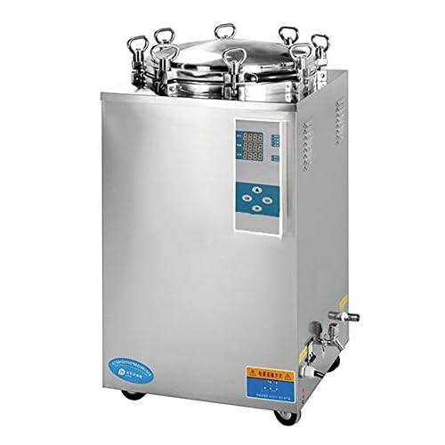 Hanchen Digitale Vapore Autoclave Sterilizzatore 150L Pressione Verticale Vapore Sterilizzatore Flip Type Pot Manopola Meccanica Autoclave Macchina 105-134℃ 0.14-0.22MPa LS-150LD