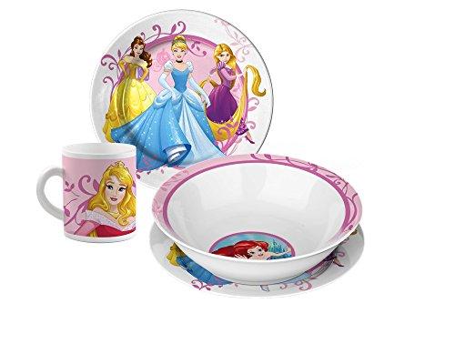 Star Licensing 45664 Set da Tavola, Porcellana, Multicolore, 3 unità