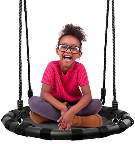 Odoland 24 Tree Swing Set for Kids Outdoor Indoor Round Swing with Adjustable Hanging Ropes product image