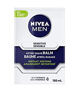 NIVEA Men Sensitive Skin After Shave Balm (3x100mL), Aftershave for Sensitive Skin, No Drying Alcohol, Instantly Soothes & Protects Skin From Shaving Irritations (B001FB5IGE) | Amazon price tracker / tracking, Amazon price history charts, Amazon price watches, Amazon price drop alerts