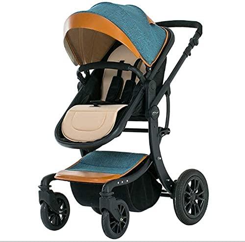 Cochecito de viaje de cochecito para bebés para el recién nacido niño pequeño cochecito de lujo para bebés de lujo PRAM para recién nacidos y niños pequeños, sillón de viaje Cochecito de cochecito de