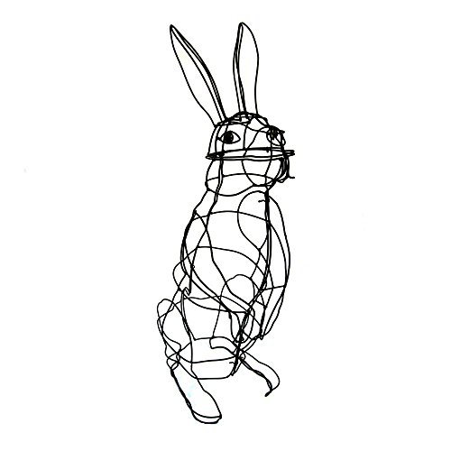 XL Buxus-Figur Hase für Buchsbaum-Pflanzen 90 cm