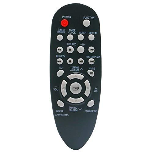 ALLIMITY AH59-02431A Fernbedienung Ersetzen für Samsung Audio System MM-E320 MM-E330 MM-J320 MM-J330