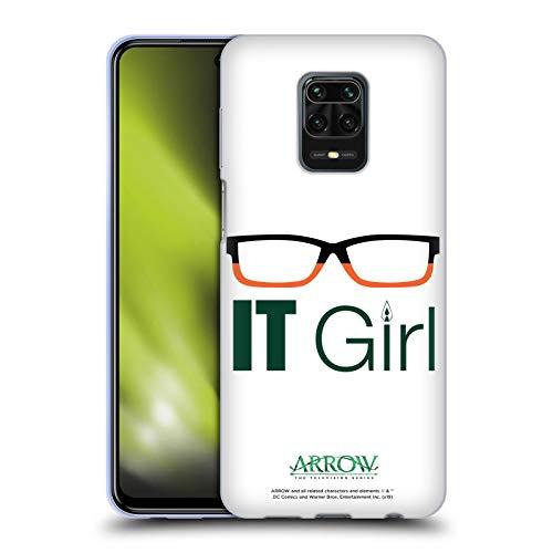 Head Case Designs Oficial Arrow TV Series Felicity Smoak IT Girl Graphics Carcasa de Gel de Silicona Compatible con Redmi Note 9 Pro/Redmi Note 9S