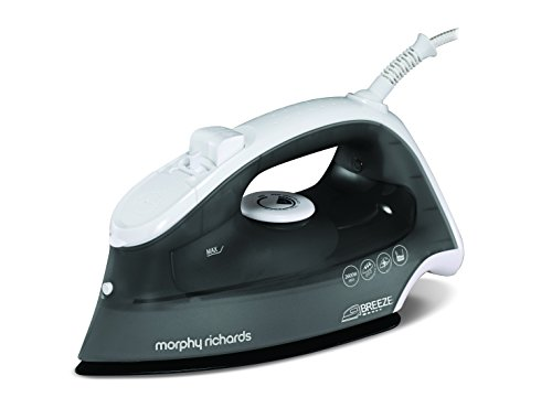 Morphy Richards 300252 Breeze Steam Iron-Grey by, 2600 W, 0.4 liters