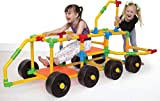 Tubelox Deluxe Building Set - The Ultimate Kids STEM Toy Set - Create Anything - Supports Kids Weight for Endless Possibilities   220 Piece Set