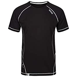 Regatta Men's Virda Ii' Quick Drying Active Sports Short Sleeve T-Shirts/Polos/Vests