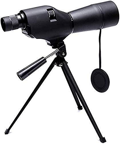 Telescopio monoculare ad Alta Potenza 20x60 Monocolo Portatile Scope Impermeabile con treppiede per Birdwatching Caccia Escursionismo Pesca