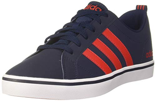adidas Herren VS PACE Basketballschuhe, Blau Collegiate Navy/Core Red S17/Ftwr White), 46 2/3 EU