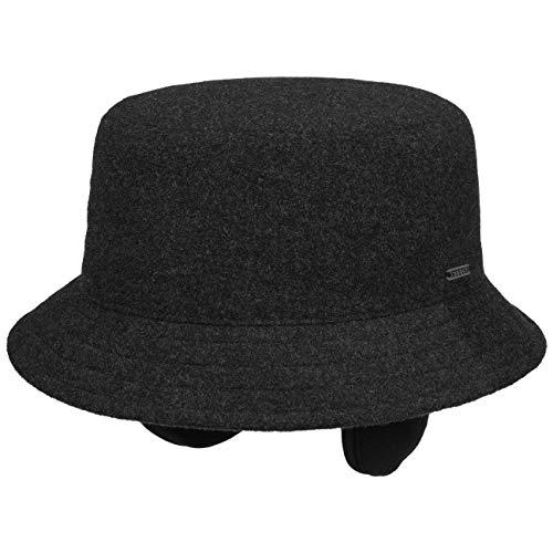 Stetson Sombrero con Orejeras Midval Bucket Mujer/Hombre - de Mujer Hombre Tela...