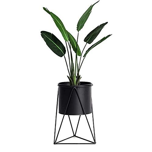 Metalen bloemstandaard Bloempot Plantenstandaard Succulente Cactusplant Bloempotten voor binnen buiten en op kantoor