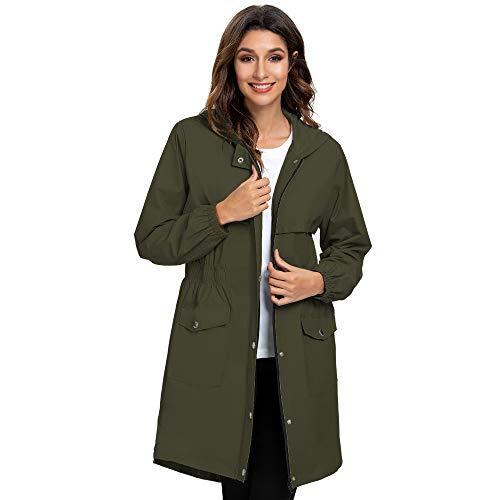Arthas Women Rain Jacket with Hood …
