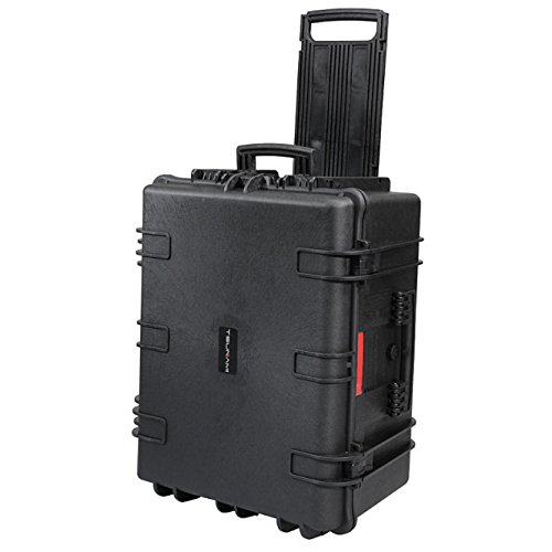 METTLE wasserdichter XL-Studio-Trolley; Schutzkoffer, Flightcase