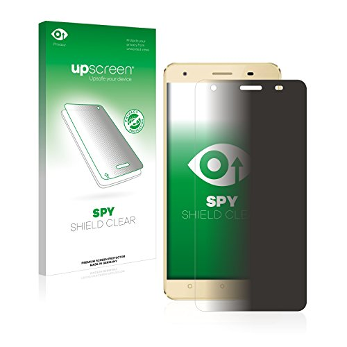 upscreen Anti-Spy Blickschutzfolie kompatibel mit Oukitel C5 Pro Privacy Screen Sichtschutz Bildschirmschutz-Folie