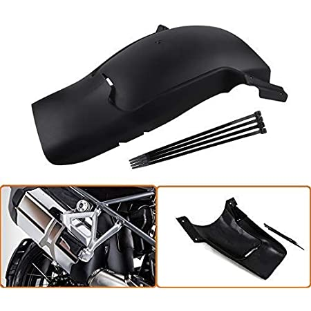 R1200GSA 2014-2017 GZYF ABS Motorcycle Front Fender Extensions Mudguard Extender Fits BMW R1200GS 2013-2017 Black