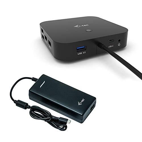 i-tec USB-C Dockingstation 2x4K mit 100W Stromversorgung - 2X DisplayPort 1x USB-C 3X USB 3.0 2X USB 2.0 1x GLAN 1x Audio/Mik