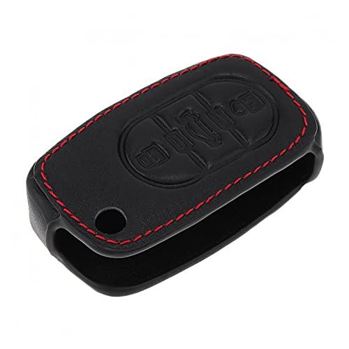 YFQH 3 Botones Tapa Protector de Claves de Coche 3D con Cuello de hinchazón Colgante Fit para Audi A3 /A4/A6/A8/A8QUATTRO/TT/RS4 1997-2005