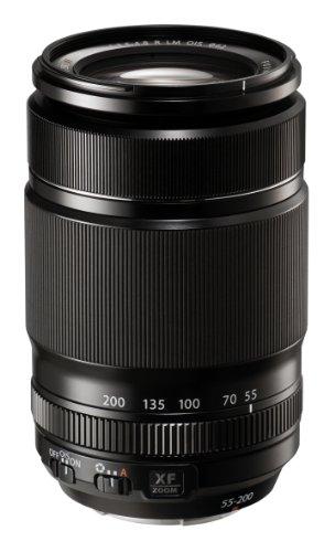 Fujifilm Fujinon 55 - 200 / F 3.5 - 4.8 R LM OIS 55 mm-200 mm Objektiv ( Fujifilm X-Anschluss,Autofocus,Bildstabilisator )