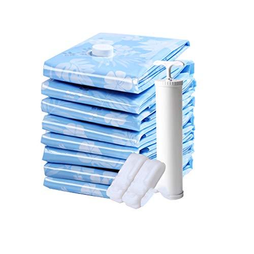 SXET Bolsa de compresión al vacío Engrosamiento Bolsa de Almacenamiento de edredón Extra Grande Ropa para el hogar Bolsa de Acabado de edredón
