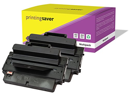 2X SCHWARZ Toner kompatibel für Samsung ML-3310, ML-3310ND, ML-3312ND, ML-3710, ML-3710ND, ML-3712DW, ML-3712ND, SCX-4833, SCX-4833FD, SCX-4835FR, SCX-5637FR, SCX-5639FR, SCX-5737FW, SCX-5739FW
