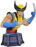 Diamond Select DIAMSEP192492 Marvel X-Men Animated Series Busto Wolverine 15 cm, Multicolor