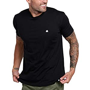 Men's Crew Neck T-Shirts – Premium Fitted Modern Basic Logo Tees