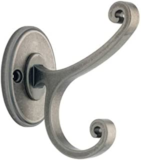 Liberty B42505Z-AI-C Casual Scroll Design Coat and Hat Hook, Antique Iron