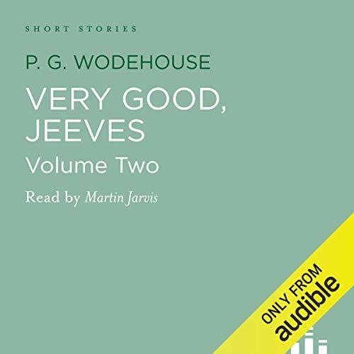 Very Good Jeeves, Volume 2 Titelbild