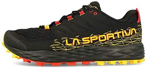 LA SPORTIVA Lycan II, Zapatillas de Trail Running Hombre, Black/Yellow, 45 EU