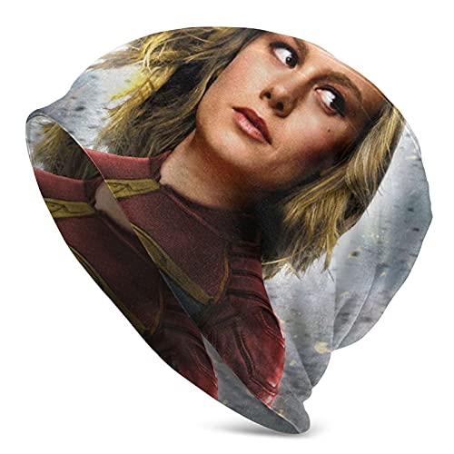 Capitán Marvel, gorro de punto para correr, regalo para parejas para hombres/mujeres/mamá/papá/ella/él/niños/niñas
