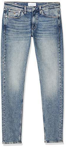 Calvin Klein Ckj 058 Slim Taper Jeans, Carnum Bright Blue, W32/L34 Uomo