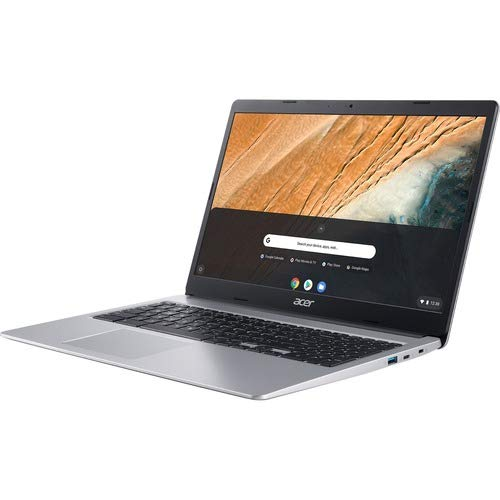 Acer Chromebook 315, Intel Celeron N4000, 15.6' Full HD IPS Touch Display, 4GB LPDDR4, 32GB eMMC, Gigabit WiFi, Google Chrome, CB315-3HT-C296