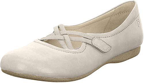 Josef Seibel Fiona 39 Geschlossene Ballerinas Damen, Beige (Creme), 36 EU