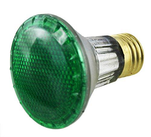 Bulbrite 50W 120V PAR20 Halogen Green Bulb
