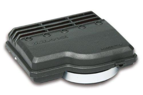 MALOSSI Filtro de aire E9, SHA 13, para Piaggio CIAO/PX/SI/Bravo/Superbravo/Grillo/Boss, conector: 50 mm, negro, rojo