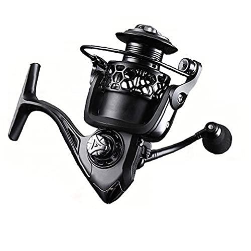 cdzhouji Reel De Pesca Giratorio Ultralight Metal Carpa Carrete De Pesca Na2000 Drag Power Hilo Spool Spinning Reel