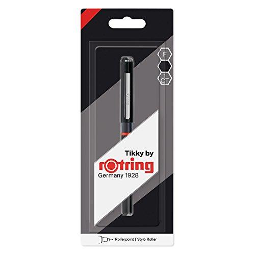 Rotring Tikky bolígrafo roller, punta fina, tinta negra