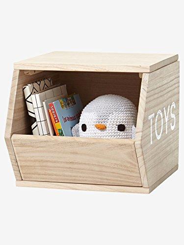 Vertbaudet VERTBAUDETHolz-Aufbewahrungsbox Toys naturONE Size