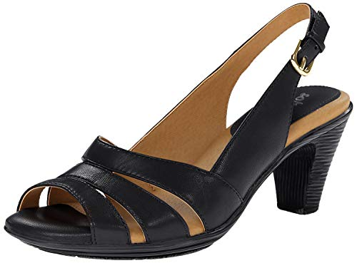 Comfortiva Women's Neima-Soft Spots, Black Velvet Sheep Nappa, 9 M US