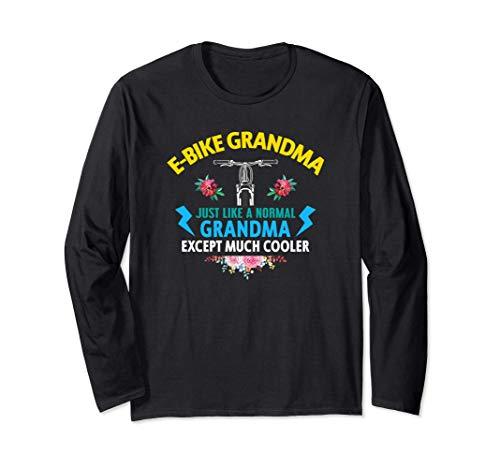 Ebike Grandma Funny E-Bike Manga Larga