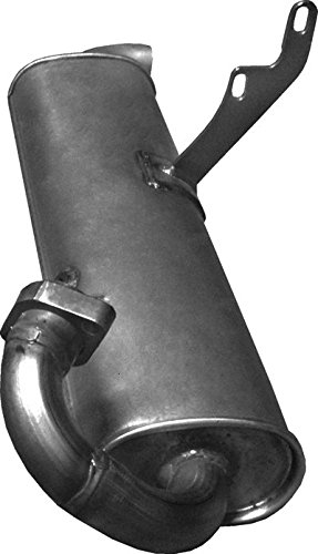 ETS-EXHAUST 2929 Endtopf Auspuff (für CITY FORTWO 0.6 0.7 CABRIO COUPE 55/45/61/50hp 2000-2004)