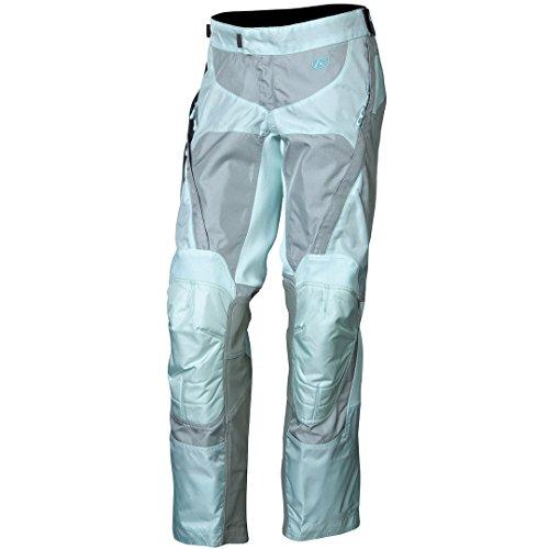 Klim Savanna - Pantalones de motocross para mujer, color azul y talla 12