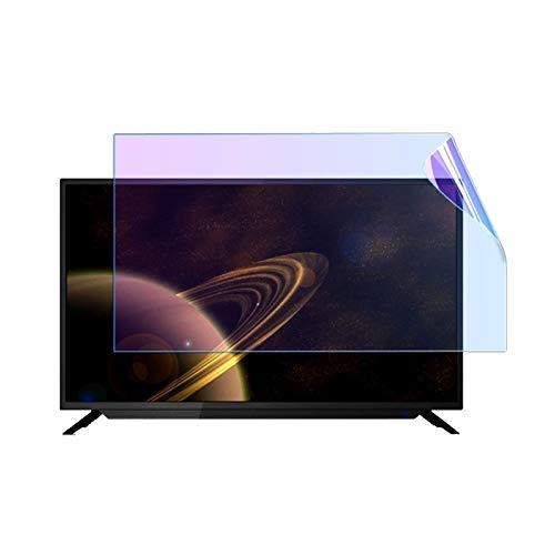 GHHZZQ 32-75 Pulgadas Protector de Pantalla de TV Anti-rasguños, Película Anti luz Azul por LCD, LED, OLED y QLED 4K HDTV (Color : Hdglossyfilm, Size : 39 Inch 856 * 478mm)