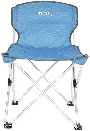 ZYLHC Sillas reclinables Plegable al Aire Libre Tumbona Mesa de Playa al Aire Libre y una Silla Respaldo Silla portátil sillón Silla de la Pesca (Color : A)