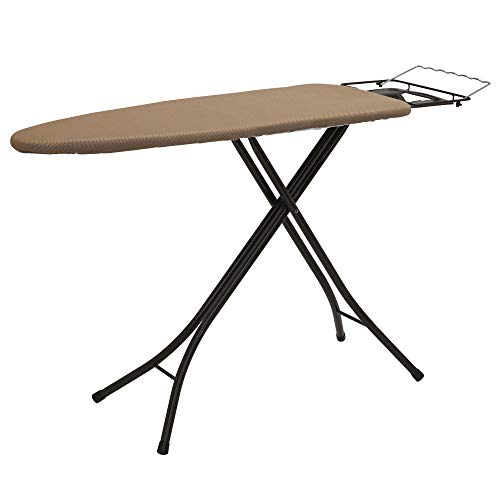 """Household Essentials Steel Top Wide Ironing Board with Iron Rest 
