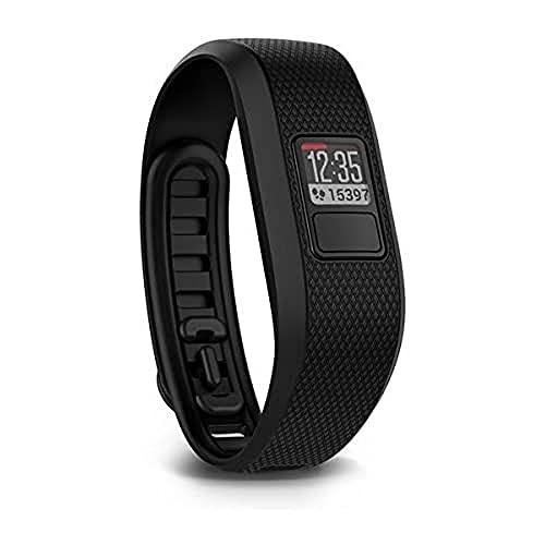 Garmin Vivofit 3 - Bracelet Connecté avec Détection d'Activité - 1 an d'Autonomie - Taille M - Noir