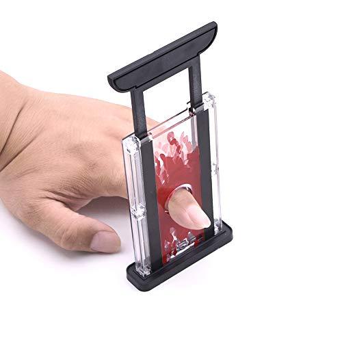 Finger Chopper / スマートギロチン 透明な爪切り 指を切るマジック フィンガーチョッパーマジック ドッキリ道具 面白いマジック 近景マジック道具 手品道具 マジックアイテム