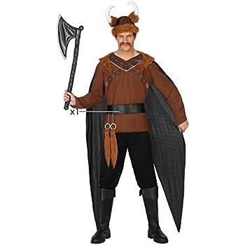 Atosa-38884 Disfraz Vikingo, Color marrón, XL (38884): Amazon.es ...